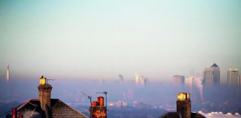 Smog, London, UK